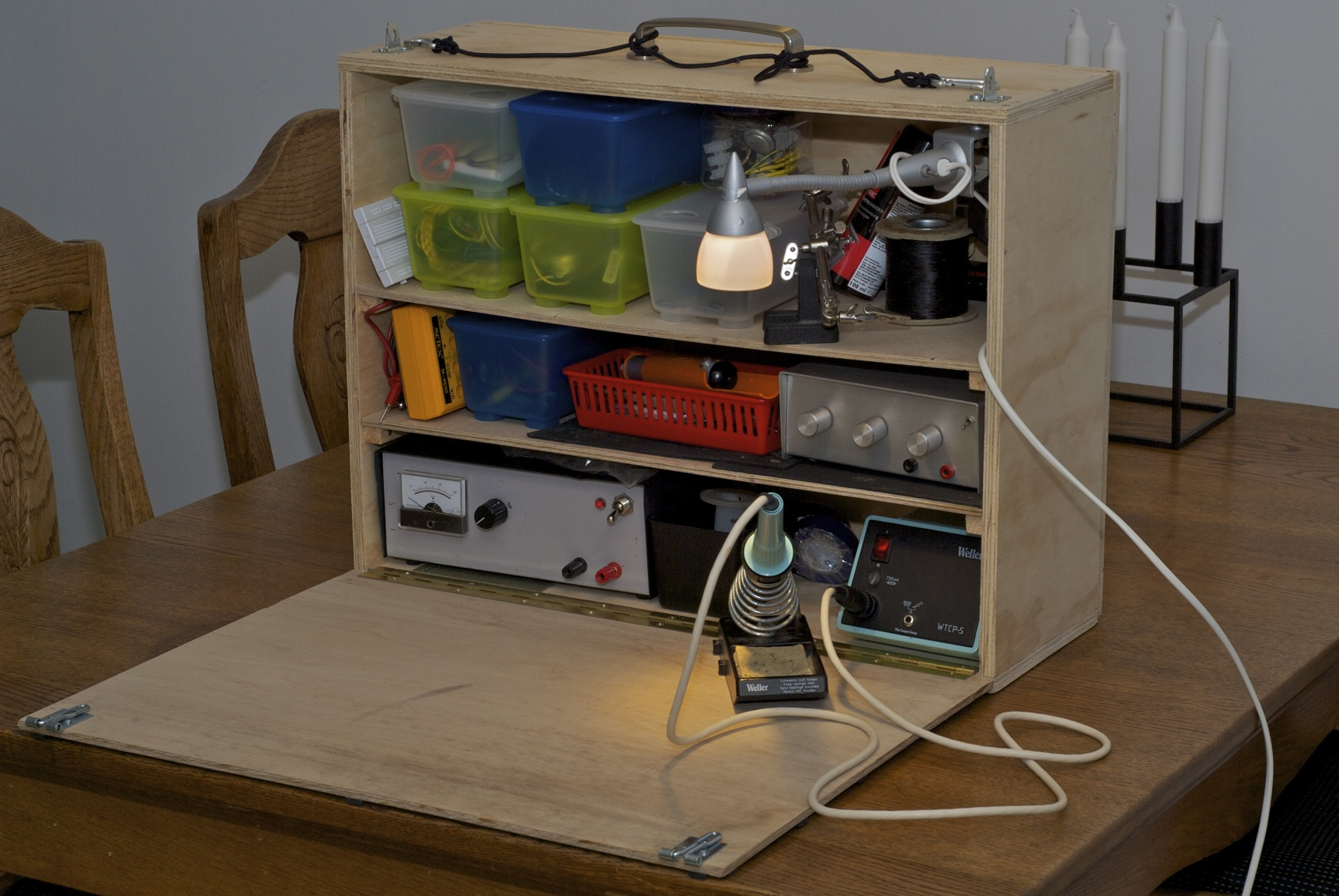 Mobile Electronics Workbench Nisker Net
