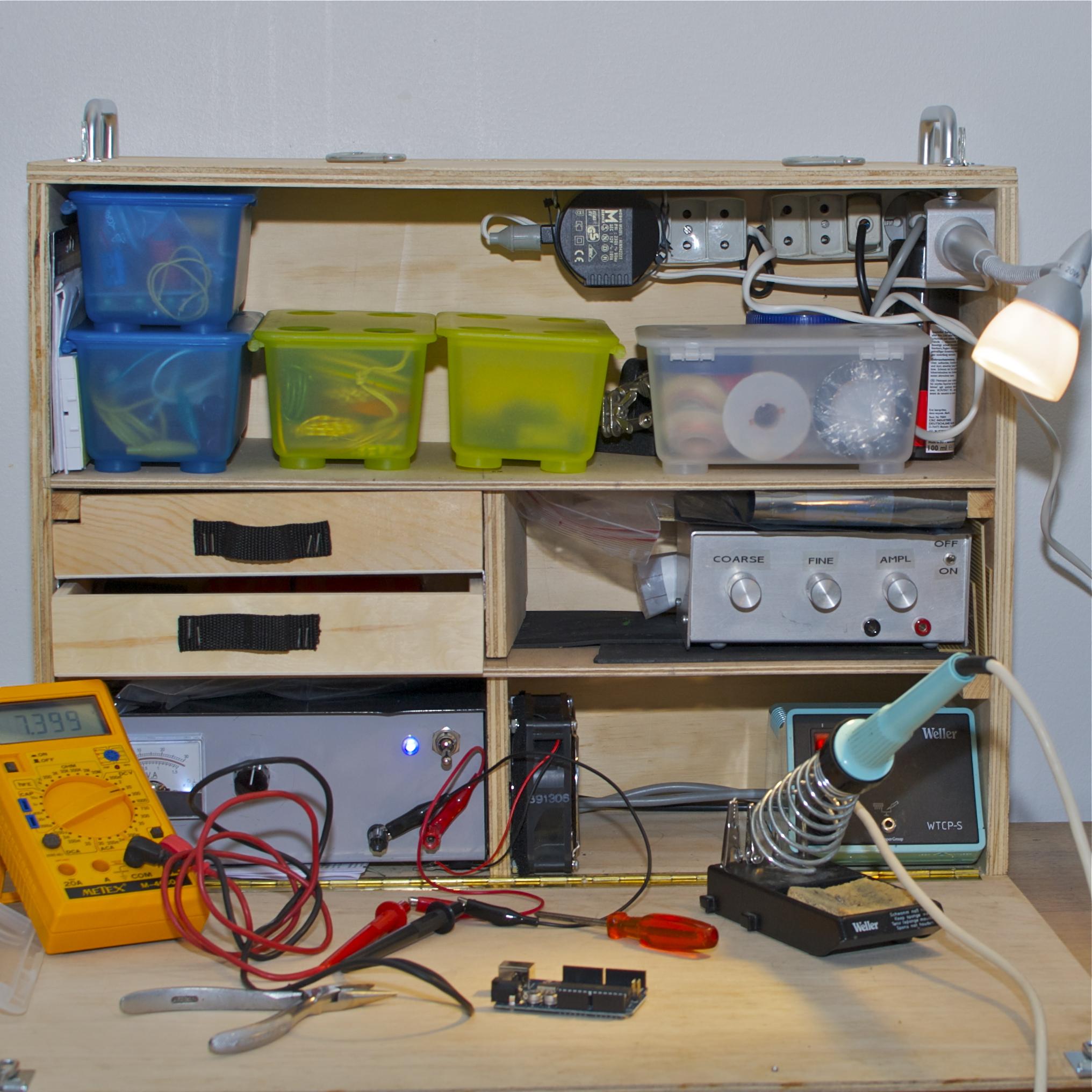 Wondrous Mobile Electronics Workbench Nisker Net Creativecarmelina Interior Chair Design Creativecarmelinacom