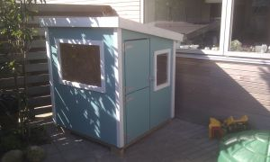 Finished playhouse