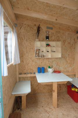 playhouse child friendly interior surfaces | Kids playhouse - nisker.net