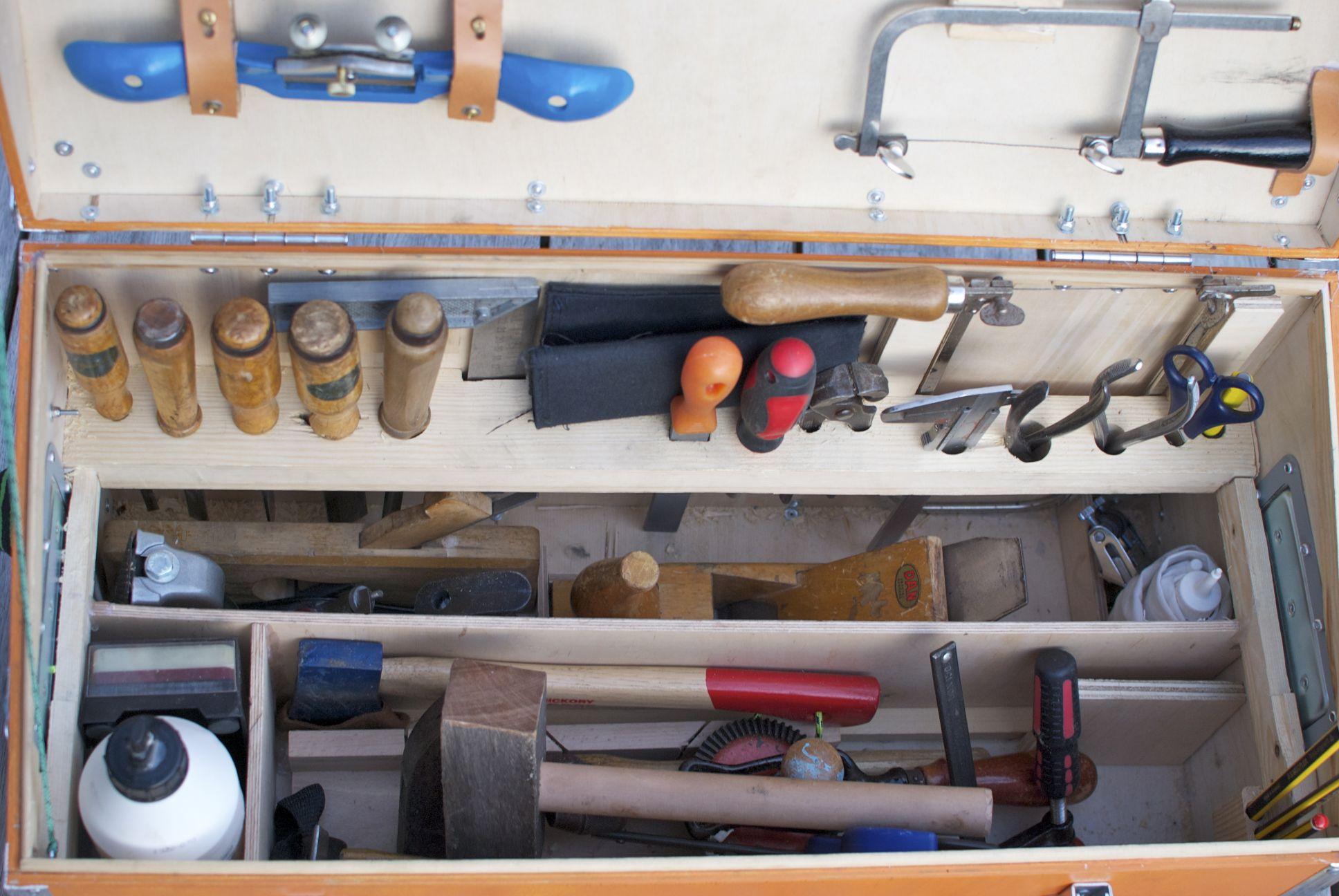 Woodworking tool chest - nisker.net